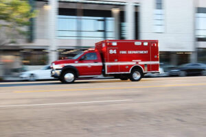 Fresno, CA - Two Hospitalized After Serious Pedestrian Accident at Van Ness & Clinton Aves