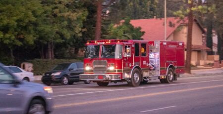 San Francisco, CA - 15 Injured in Sierra Madre Apartment Fire at 421 Leavenworth St